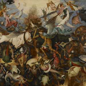 Bruegel, the Fall of the Rebel Angels