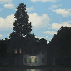 René Magritte, The Dominion of Lights, 1954