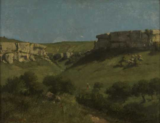 Gustave Courbet and Belgium