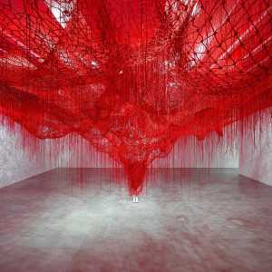 "Chiharu Shiota - ""Me Somewhere Else"" (2018)"