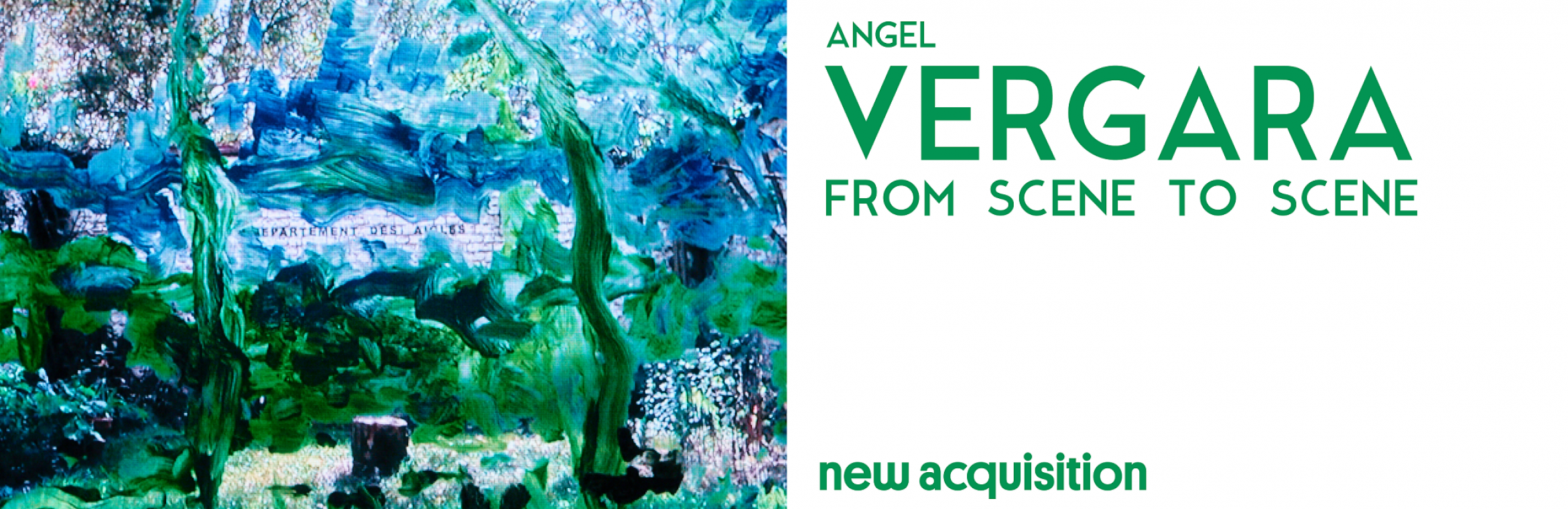 Nouvelle acquisition : Angel Vergara, From Scene to Scene