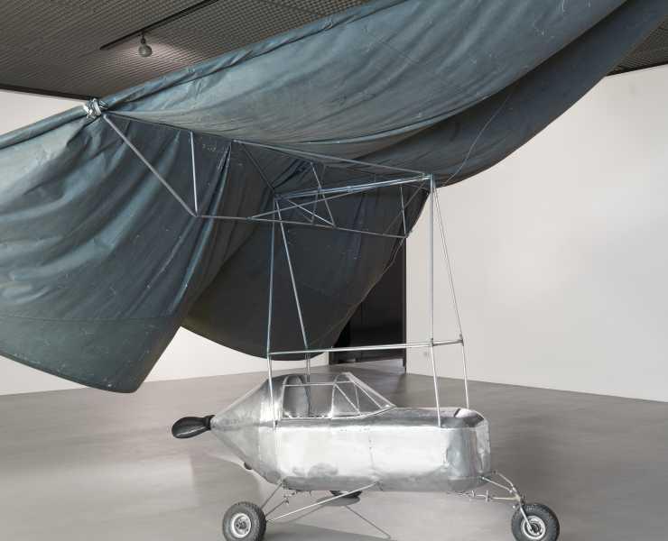 """Panamarenko (Henri Van Herwegen) : """"Thundercloud"""", 1971. Brussels, Royal Museums of Fine Arts of Belgium, inv. 12151"""