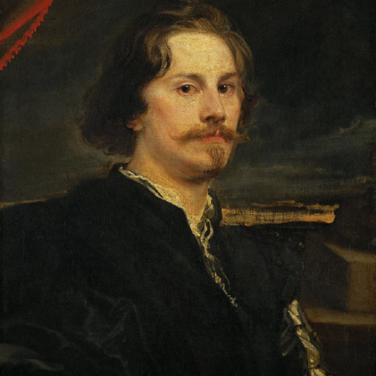 Portrait of a Man, now identified as Pieter Soutman, by Anthony Van Dyck (click to enlarge)