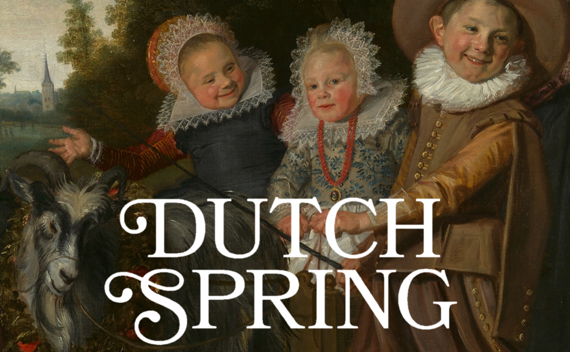 Dutch Spring temporary banner