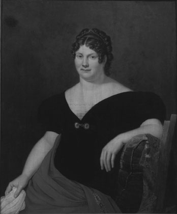 Anonyme : Portrait de madame James Farrar née Mary Handley (fr)
