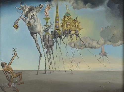 Kunstwerk De Bekoring Van Sint Antonius Koninklijke Musea Voor