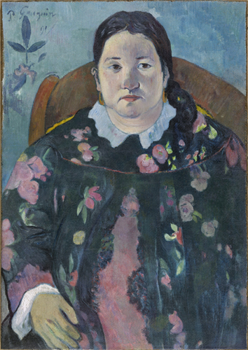 Paul Gauguin : Portret van Suzanne Bambridge