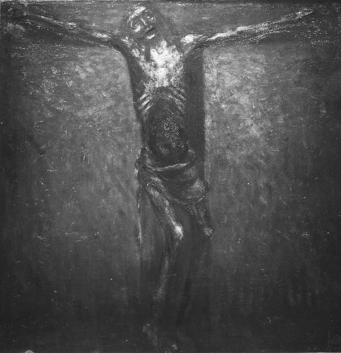 Albert Servaes : Christ en croix